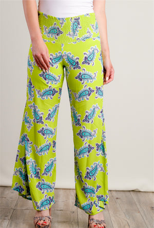 Green Paisley Bottoms