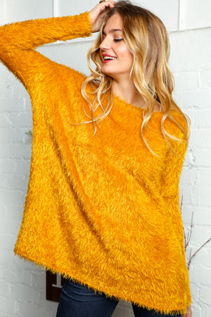 Mustard Soft Solid Sweater