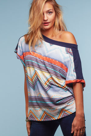 Tribal Off Shoulder Blouse