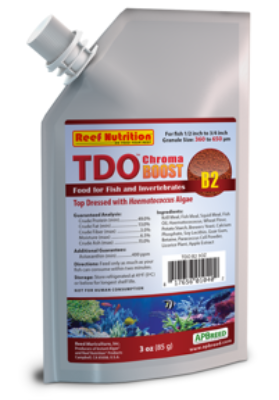 TDO Food-Chroma Boost (B2) by Reef Nutrition