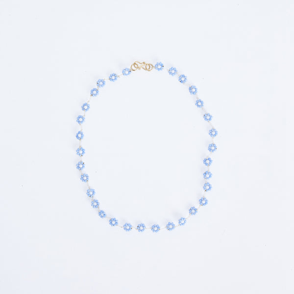 Daisy Blue Necklace