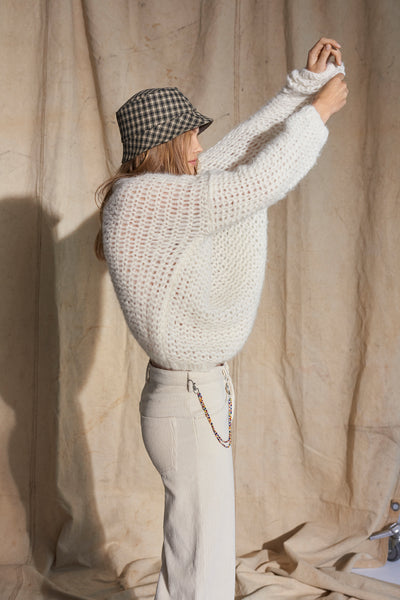 Baby Alpaca Knit - White