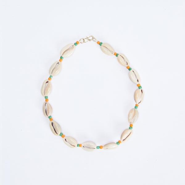 Short Shell Beads Necklace