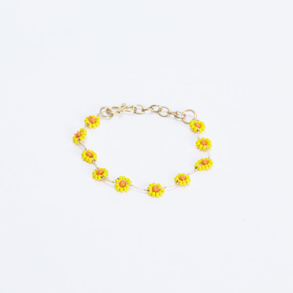 Daisy Yellow Bracelet