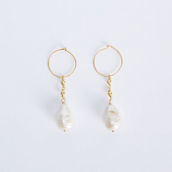 Natural Pearl Earrings