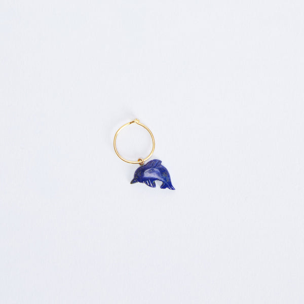 Single Dolphin Earring