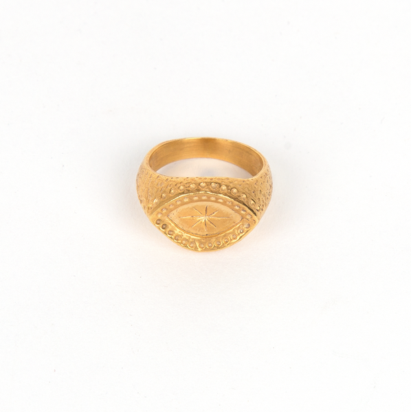 Stamp Star Ring
