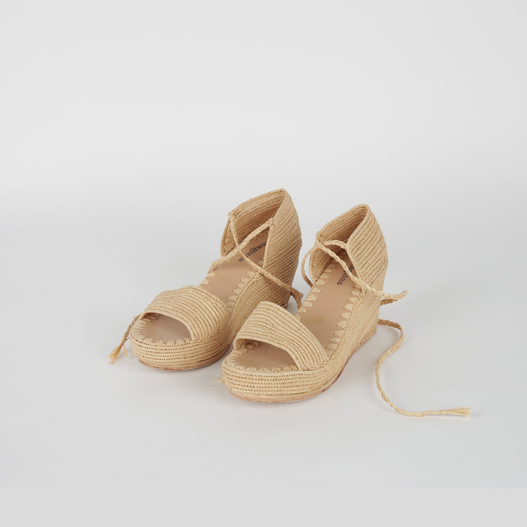 French Rafia Wedges