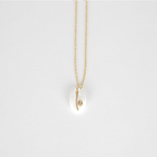 Single Coquillage Necklace