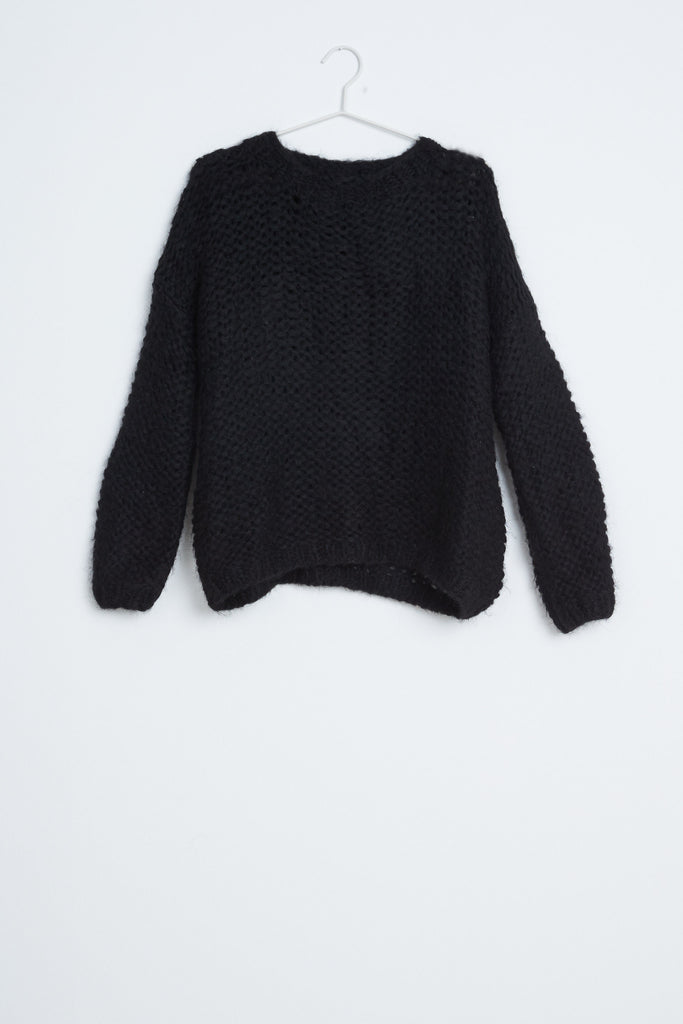 Baby Alpaca Knit - Black