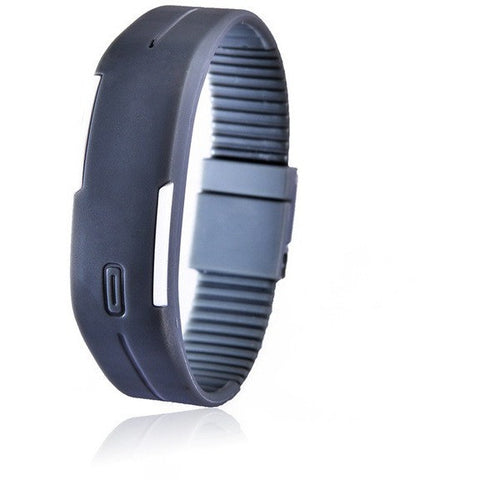 Digital LED Fitness Watch - Gray