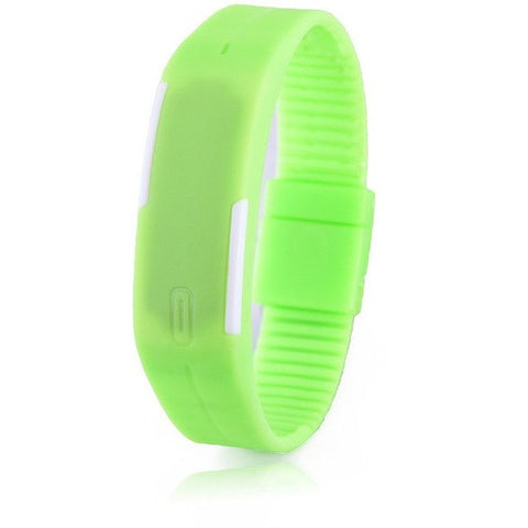 Digital LED Fitness Watch - Green