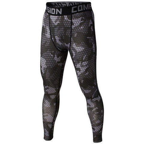 Black Mesh Mens Compression Pants - Absolutely Aesthetic Apparel