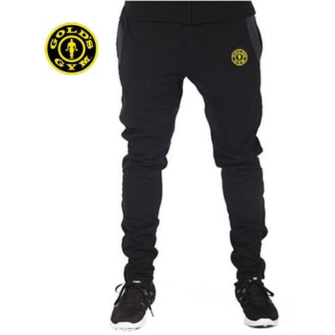 Black Golds Gym Jogger Sweatpants - Absolutely Aesthetic Apparel