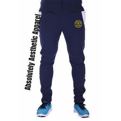 Blue Golds Gym Joggers - Absolutely Aesthetic Apparel