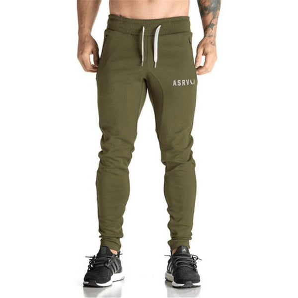 Army Green ASRV Joggers - Absolutely Aesthetic Apparel - Mens