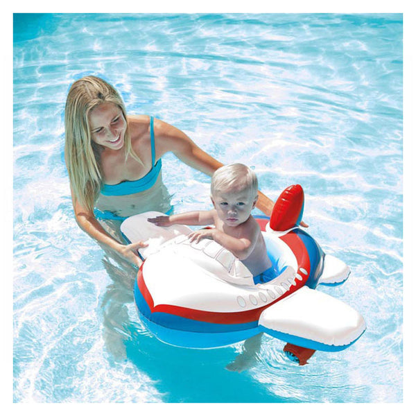 PYC airplane baby pool float