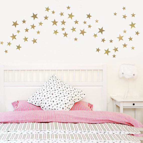 Mixed Star Wall Decals - Pretty Yum Co