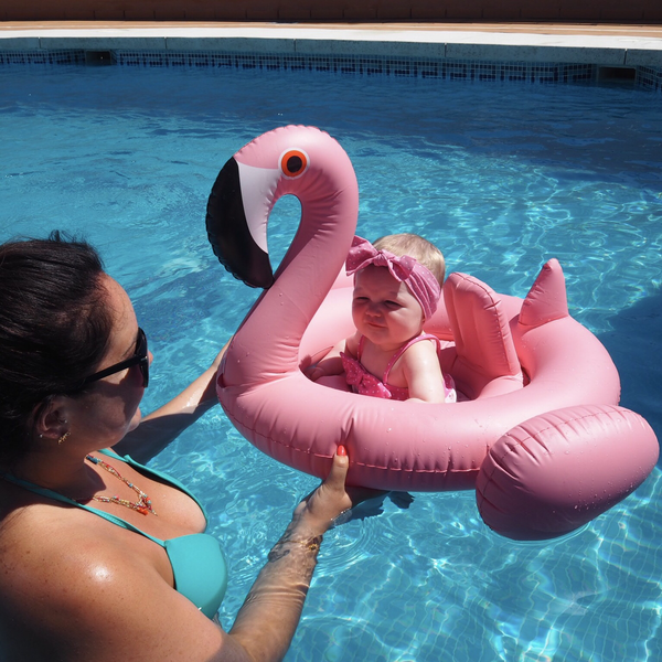 Flamingo Baby Float - Pretty Yum Co