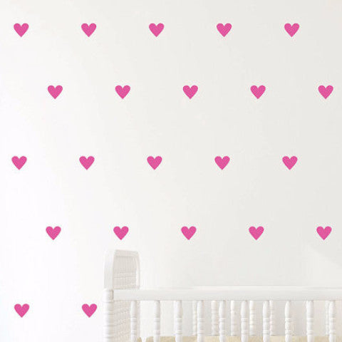 Heart Wall Decals - Pretty Yum Co