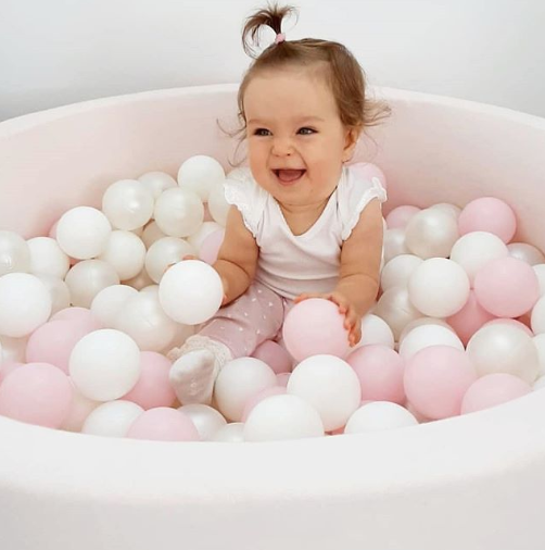 Modern Round Ball Pit - Pretty Yum Co