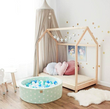 Star Print Modern Round Ball Pit - Pretty Yum Co
