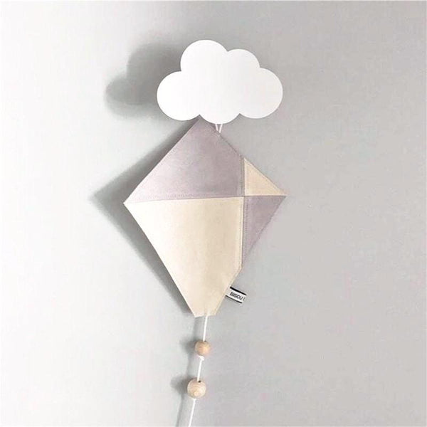PYC Wooden Cloud Wall Hook