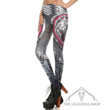 Lion Plated Armor Leggings