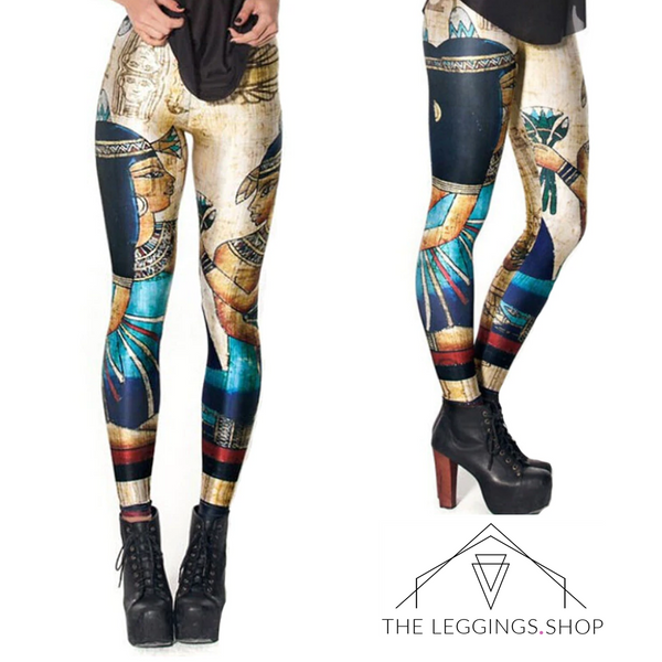 Egyptian Cleopatra Leggings