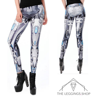 Bionic Robot Leggings - The Leggings Shop