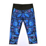 Blue Owl Athletic Capri Leggings - The Leggings Shop