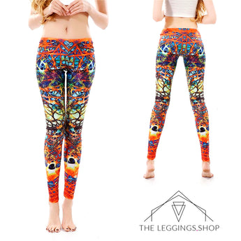 Bright Burning Dreams Leggings - The Leggings Shop
