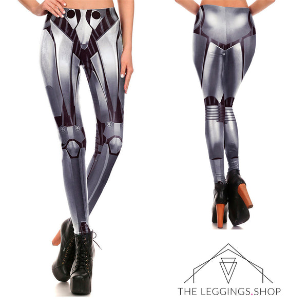 Iron Woman Armor Leggings - The Leggings Shop