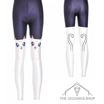 Kitty Cat Leggings - The Leggings Shop