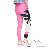 Summer in Pink Leggings - The Leggings Shop