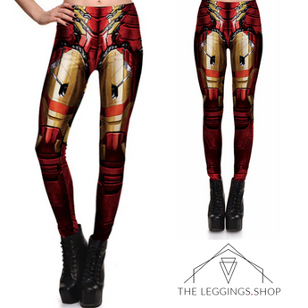 I am Iron Woman Leggings