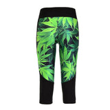 Athletic Capri Mary Jane Leggings - The Leggings Shop
