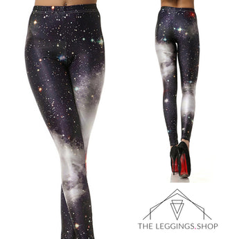 Milky Way Galaxy Leggings - The Leggings Shop