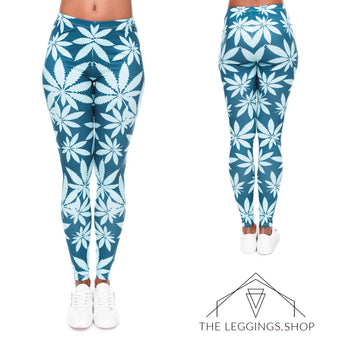Mint Mary Jane Leggings - The Leggings Shop