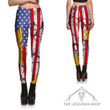 Wonder Woman Leggings - The Leggings Shop