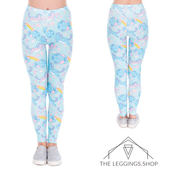 Unicorns in the Clouds Leggings - The Leggings Shop