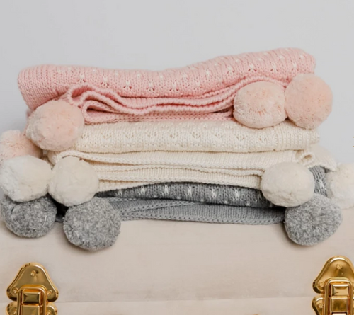 Milly Baby Blanket | Cotton Knit