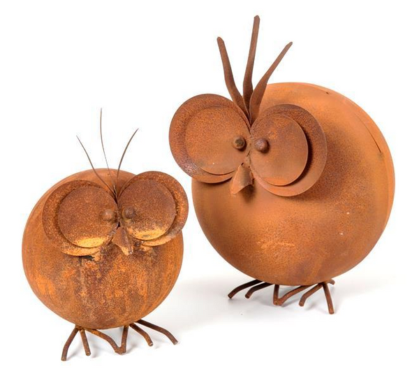 Round Rust Birds - Whatever Mudgee Gifts & Homewares