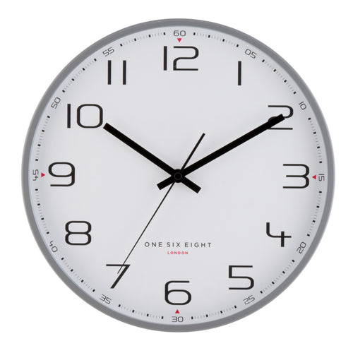 Carmen | Silent Metal Wall Clock | Assorted Sizes | One Six Eight