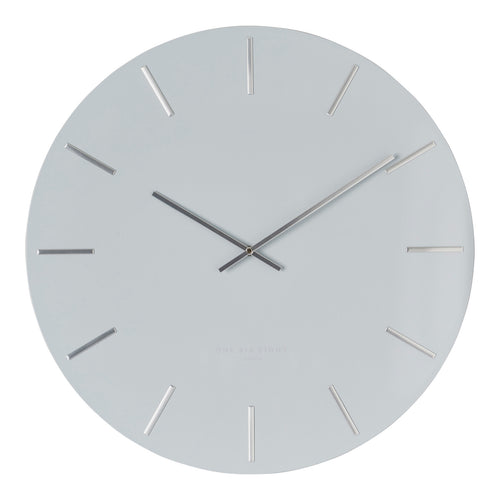 Luca Silent Wall Clock | Light Grey | One Six Eight