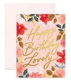Birthday Lovely - Fox & Fallow Greeting Card