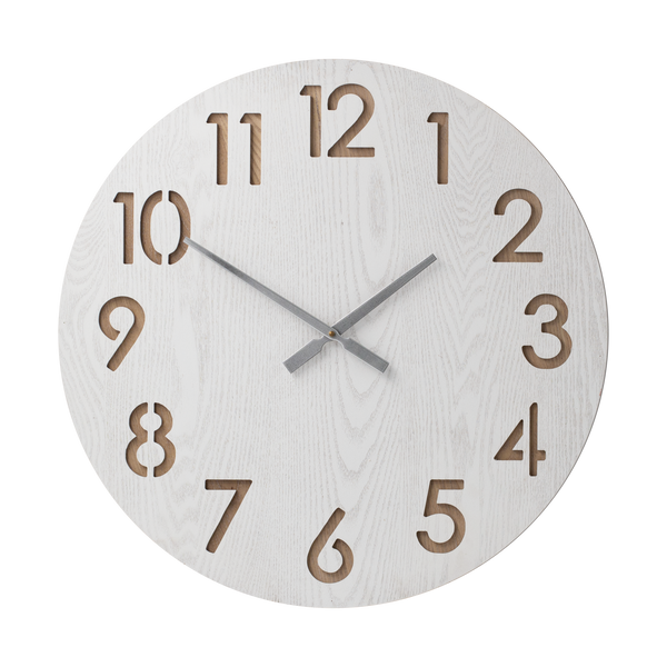 HENRIK White 60cm Wall Clock