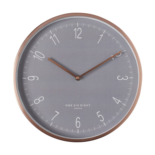Grace | Silent Wall Clock | 30cm | One Six Eight