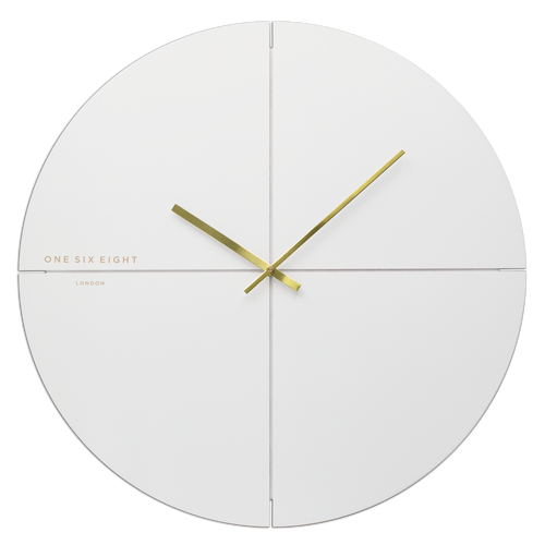 Liam White | Silent Wall Clock | Assorted Sizes | One Six Eight