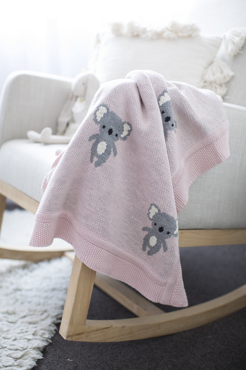 Organic Cotton | Koala | Baby Blanket